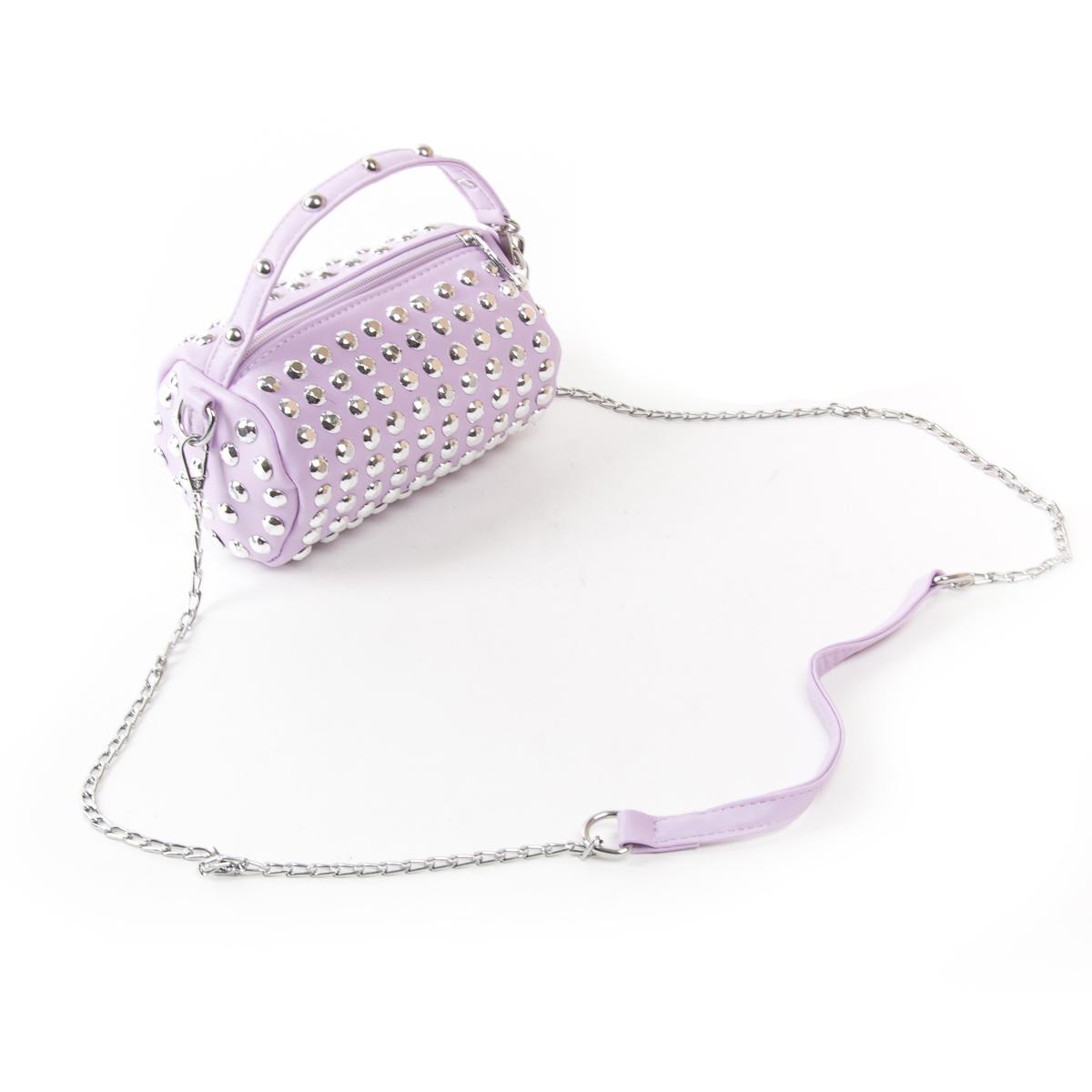 Сумка Женская Клатч иск-кожа FASHION 01-00 6853 purple - фото 4