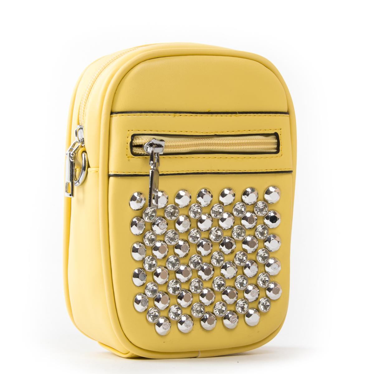 Сумка Женская Клатч иск-кожа FASHION 01-00 8158 yellow