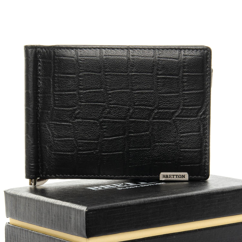 Кошелек Crocodile кожа BRETTON M3206 black
