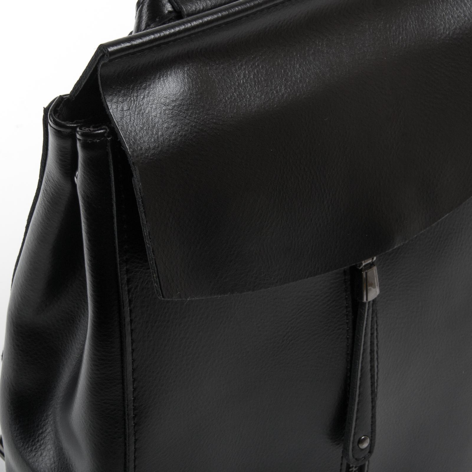 Сумка Женская Классическая кожа ALEX RAI 05-01 3206 black - фото 3