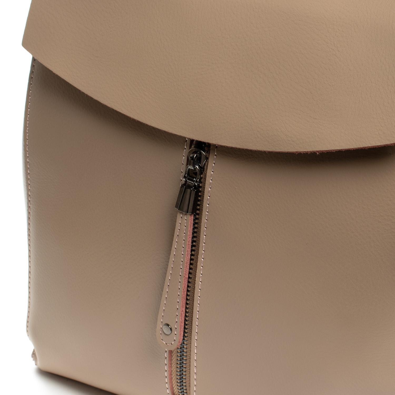 Сумка Женская Рюкзак кожа ALEX RAI 3206 khaki - фото 3