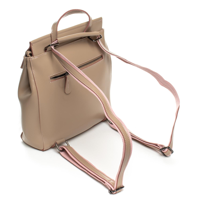 Сумка Женская Рюкзак кожа ALEX RAI 3206 khaki - фото 4