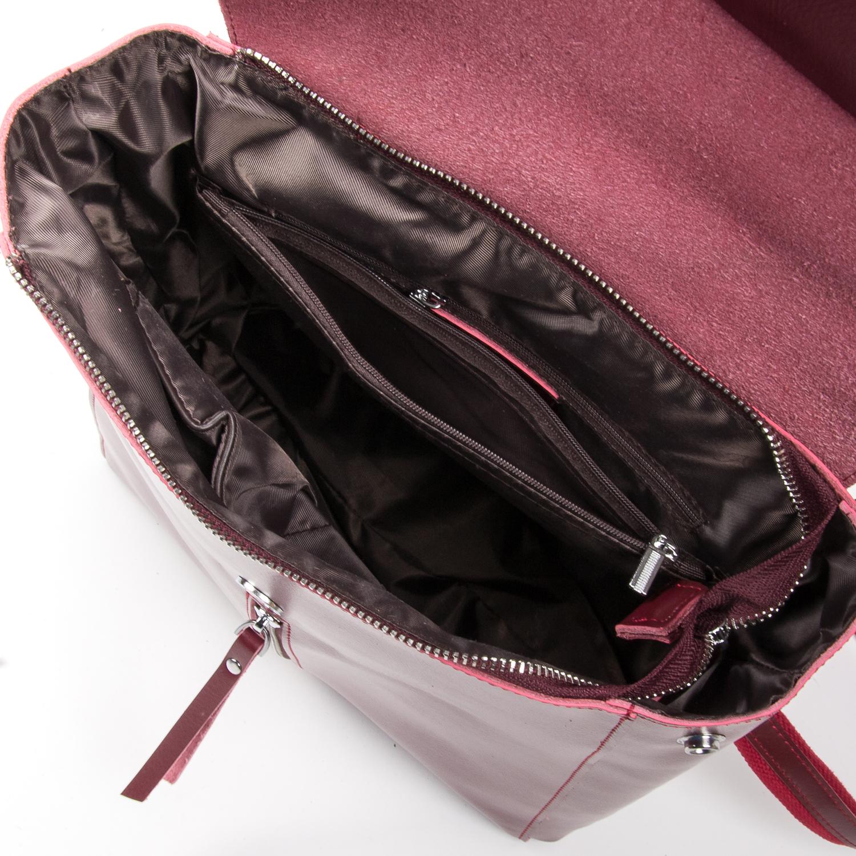 Сумка Женская Классическая кожа ALEX RAI 05-01 373 wine-red - фото 5