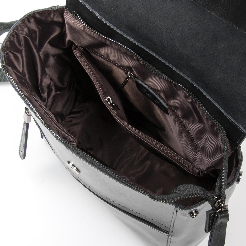 Сумка Женская Рюкзак кожа ALEX RAI 05-01 1005 grey - фото 5