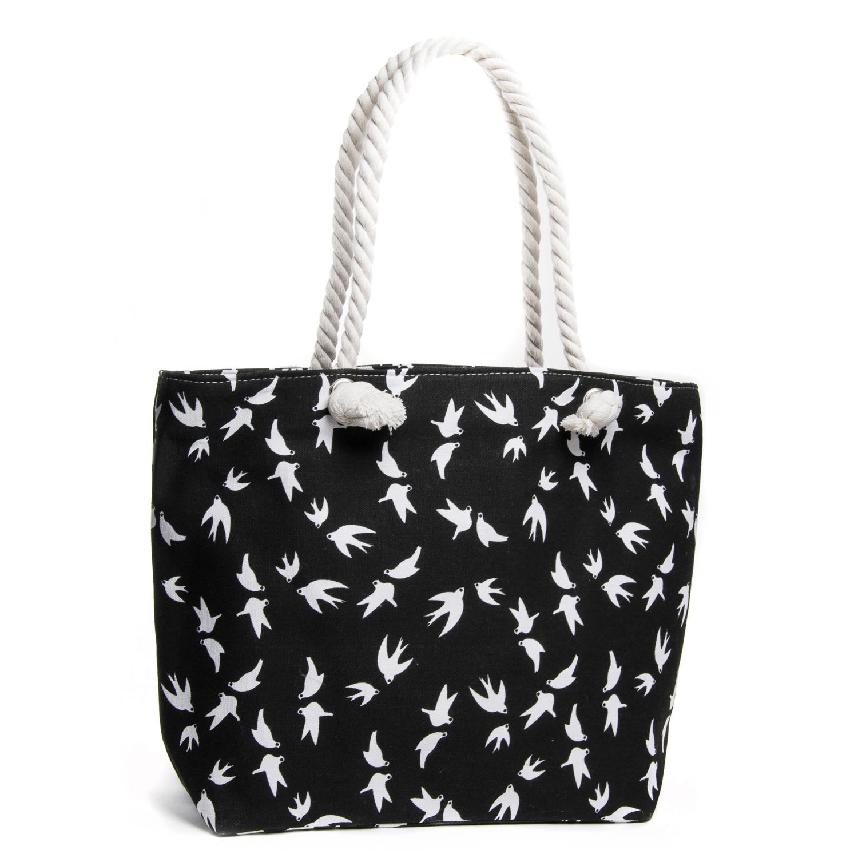 Сумка Женская Пляжная текстиль PODIUM 5011-2 black