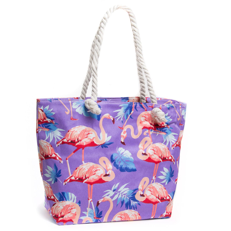 Сумка Женская Пляжная текстиль PODIUM 5012-3 purple