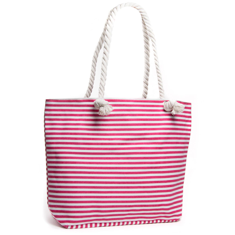 Сумка Женская Пляжная текстиль PODIUM 5013-1 pink