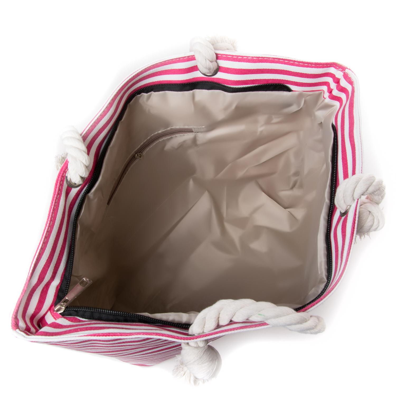 Сумка Женская Пляжная текстиль PODIUM 5013-1 pink - фото 3