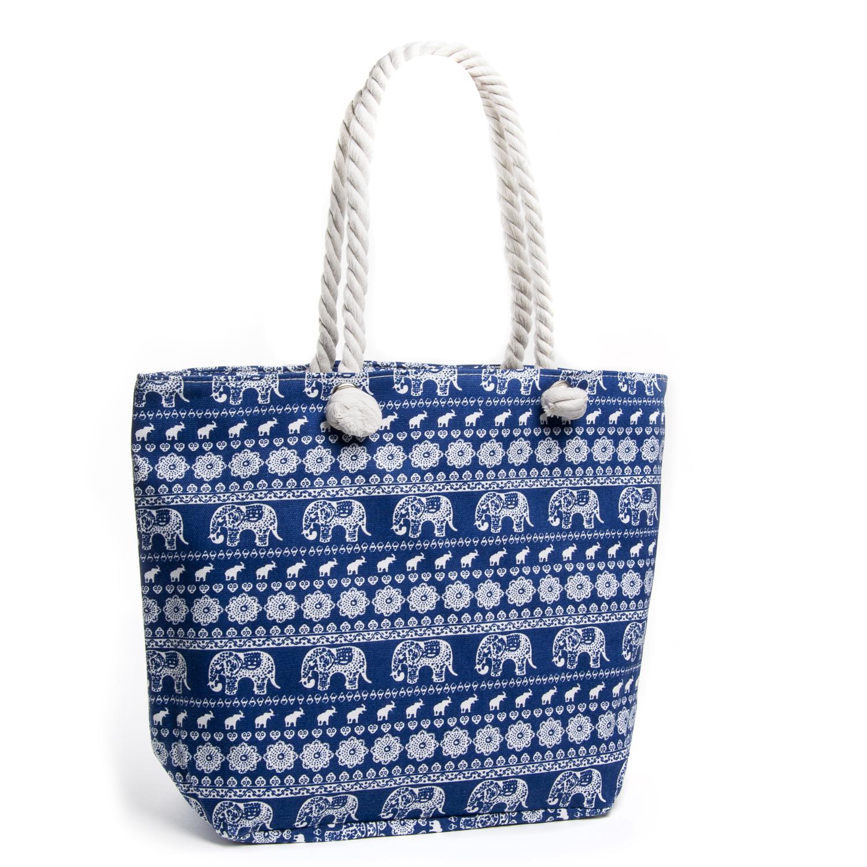 Сумка Женская Пляжная текстиль PODIUM 5016-3 blue