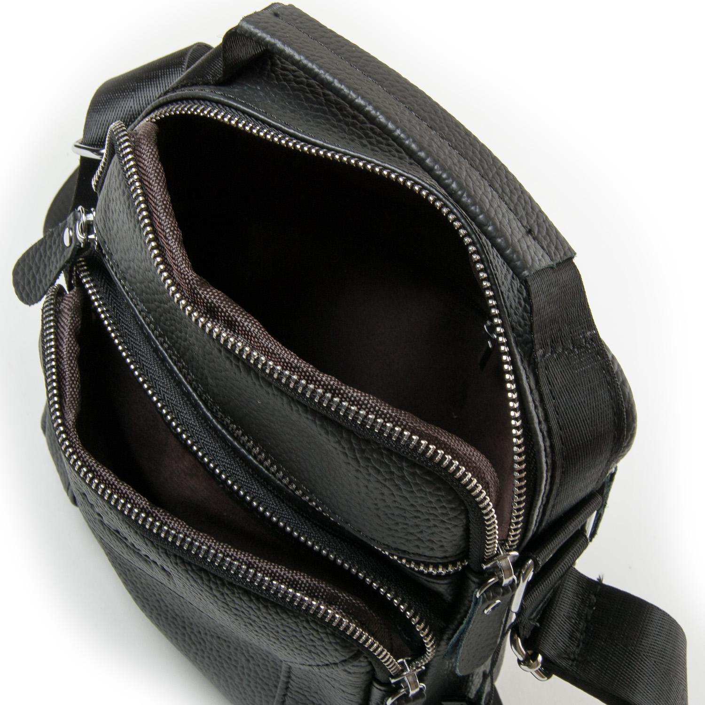 Сумка Мужская Планшет кожа DR. BOND 1436 black - фото 5