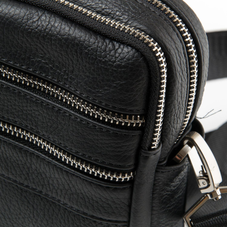Сумка Мужская Планшет кожа DR. BOND 20128 black - фото 3