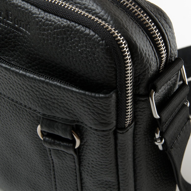 Сумка Мужская Планшет кожа DR. BOND 6619 black - фото 3