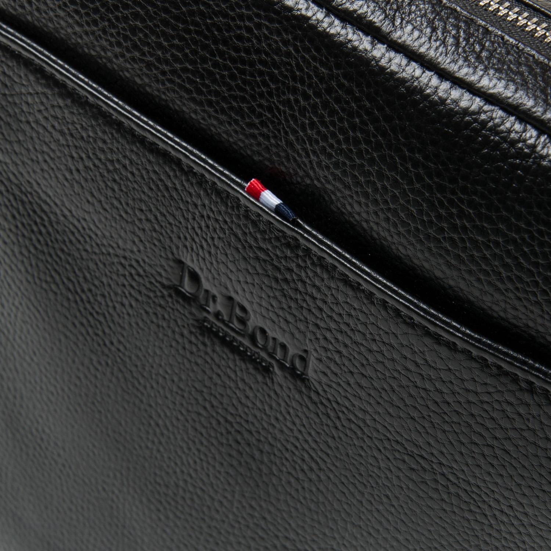 Сумка Мужская Планшет кожа DR. BOND 66262 black - фото 3