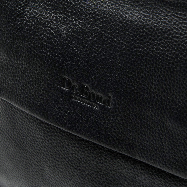 Сумка Мужская Планшет кожа DR. BOND 875 black - фото 3