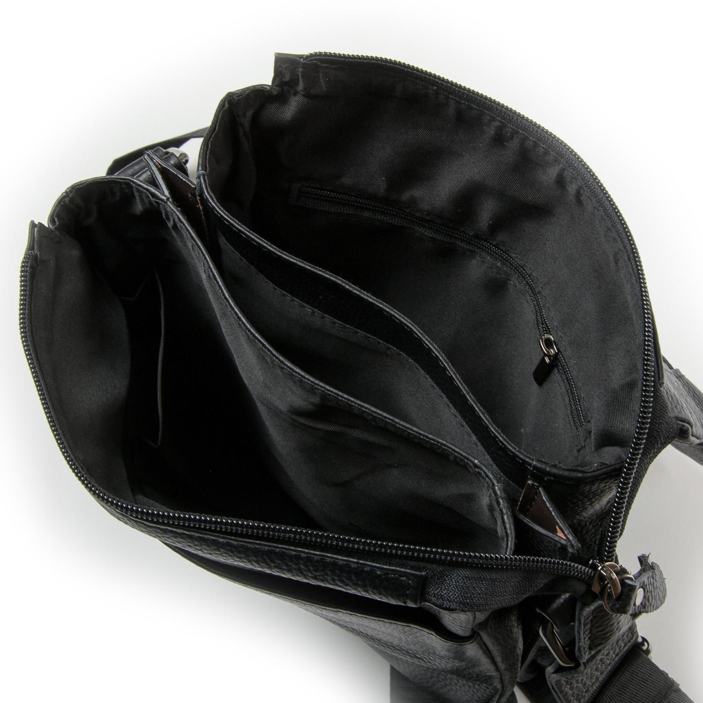 Сумка Мужская Планшет кожа DR. BOND 875 black - фото 5
