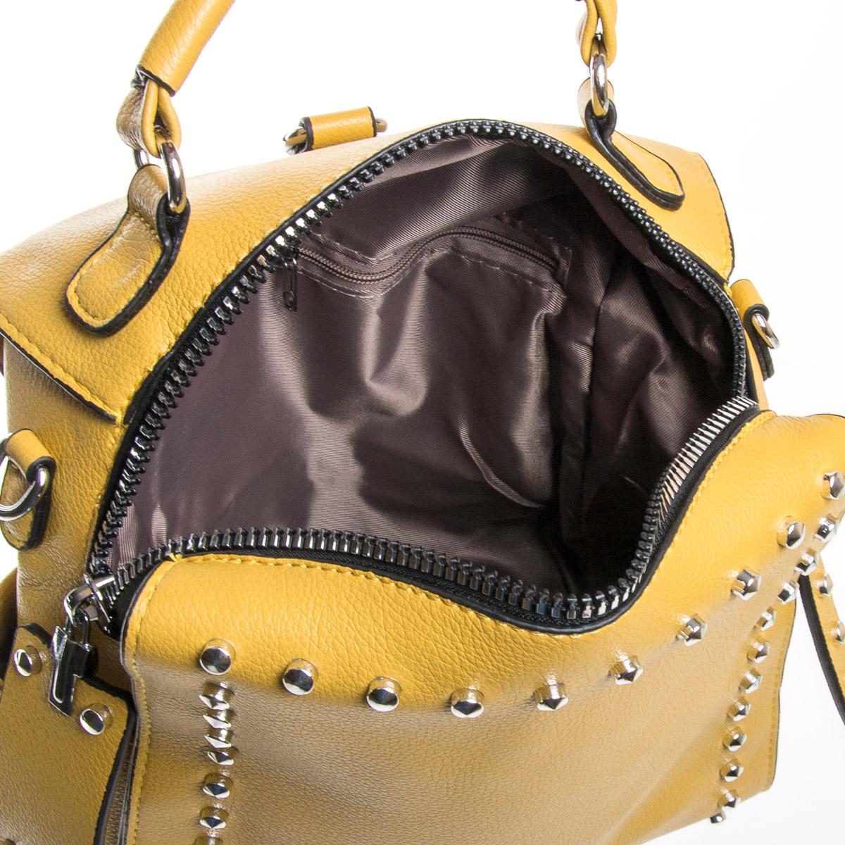 Сумка Женская Классическая иск-кожа FASHION 01-02 11054 yellow - фото 5
