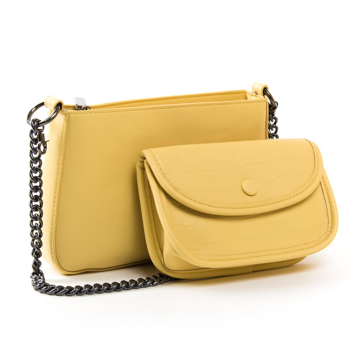 Сумка Женская Классическая иск-кожа FASHION 01-02 6900 yellow