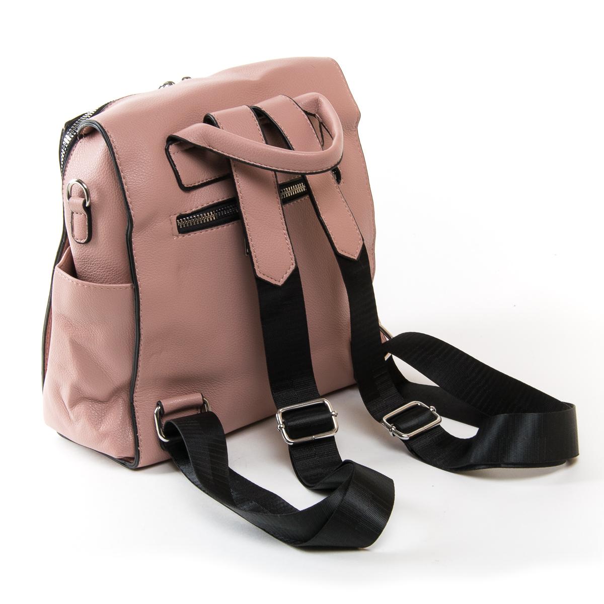 Сумка Женская Рюкзак иск-кожа FASHION 01-02 11047 pink - фото 4