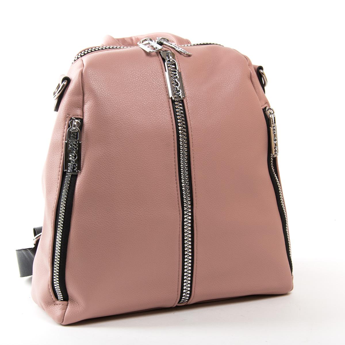 Сумка Женская Рюкзак иск-кожа FASHION 01-02 6487 pink