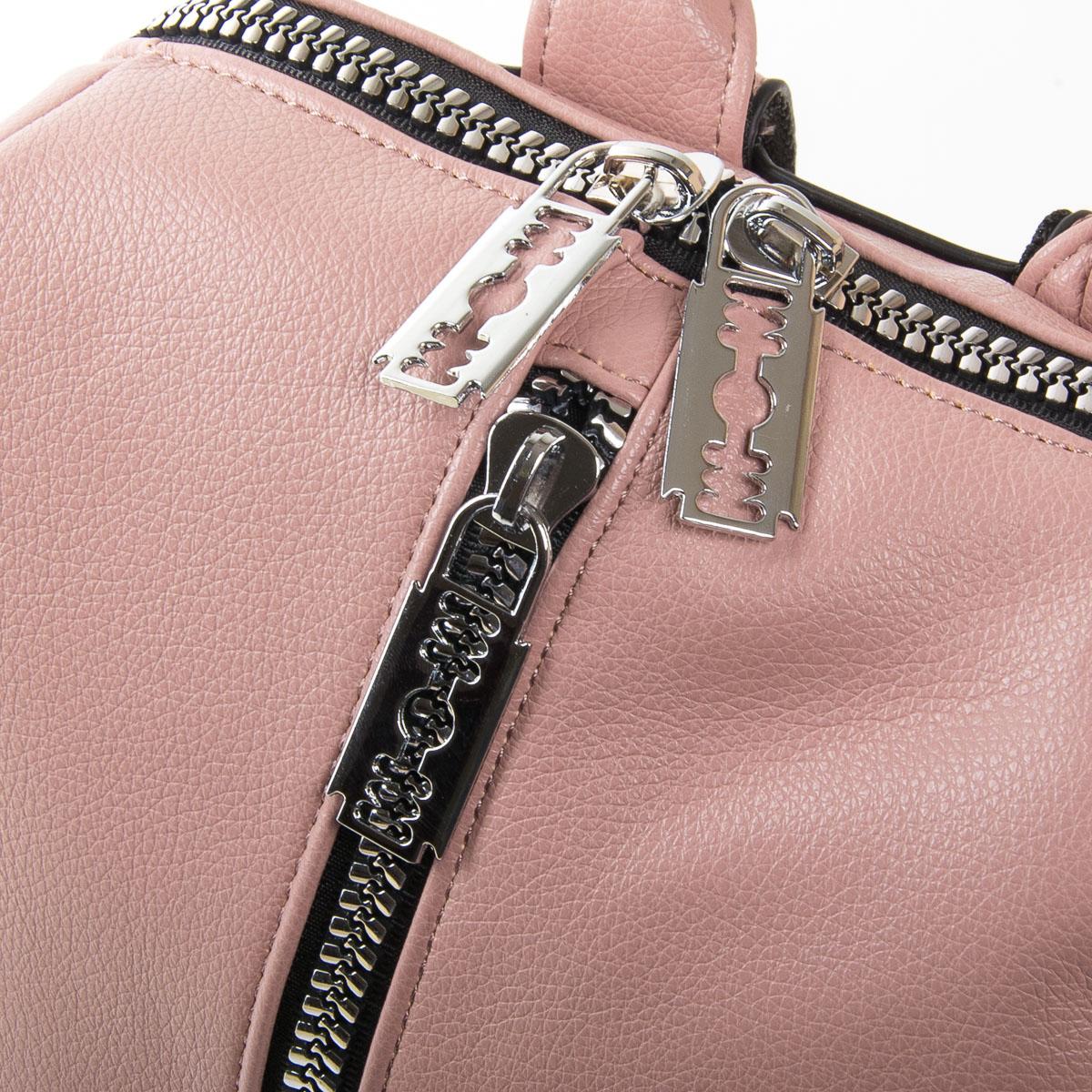 Сумка Женская Рюкзак иск-кожа FASHION 01-02 6487 pink - фото 3