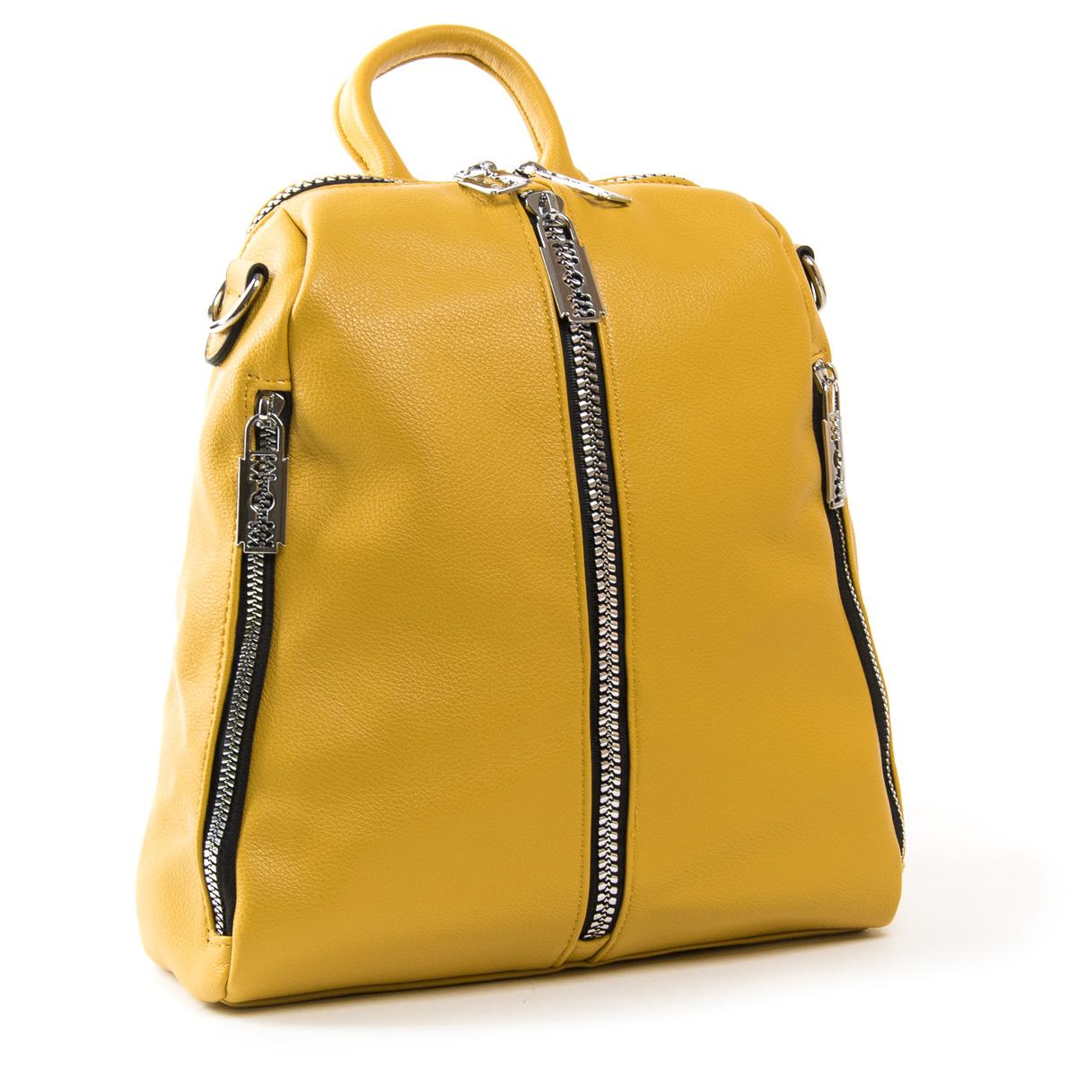 Сумка Женская Рюкзак иск-кожа FASHION 01-02 6487 yellow