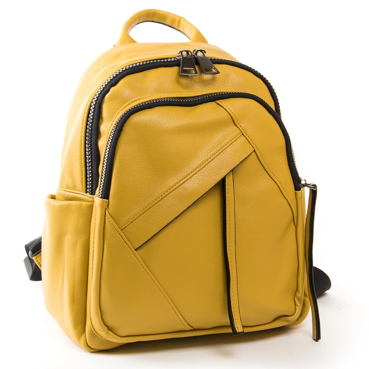 Сумка Женская Рюкзак иск-кожа FASHION 01-02 871 yellow
