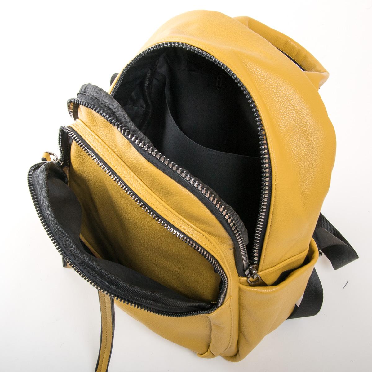 Сумка Женская Рюкзак иск-кожа FASHION 01-02 871 yellow - фото 5