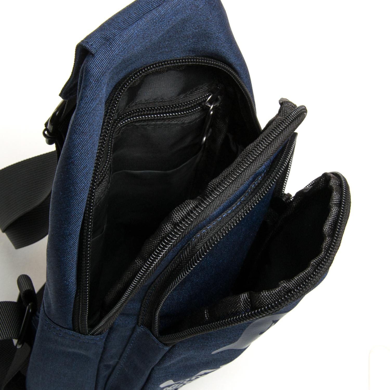Сумка Мужская На Плечо нейлон Lanpad 3048 blue - фото 5