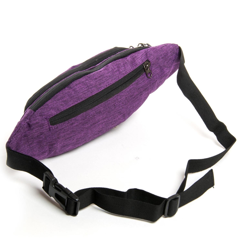 Сумка Мужская На пояс нейлон Lanpad 7661 purple - фото 3