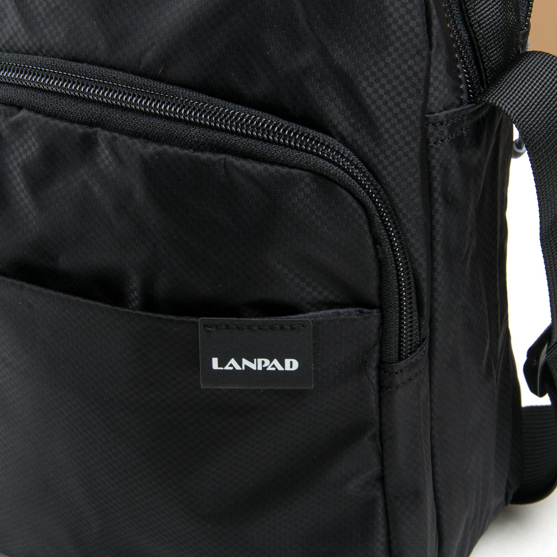 Сумка Мужская Планшет нейлон Lanpad 63001 black - фото 3