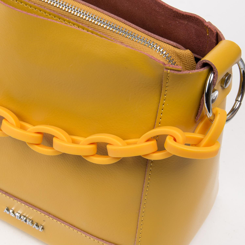 Сумка Женская Классическая кожа ALEX RAI 03-02 1897 yellow - фото 3