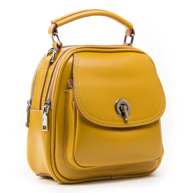 Сумка Женская Классическая кожа ALEX RAI 03-02 2236 yellow