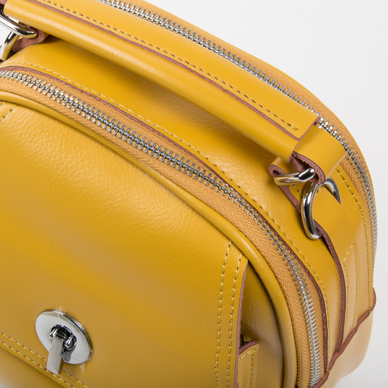 Сумка Женская Классическая кожа ALEX RAI 03-02 2236 yellow - фото 3