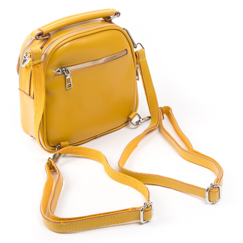 Сумка Женская Классическая кожа ALEX RAI 03-02 2236 yellow - фото 4