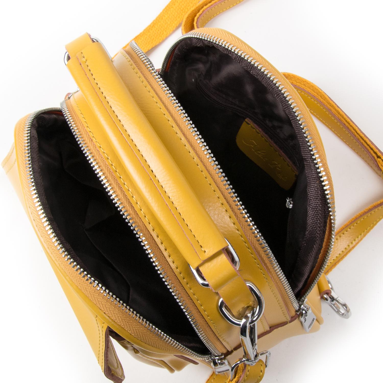 Сумка Женская Классическая кожа ALEX RAI 03-02 2236 yellow - фото 5
