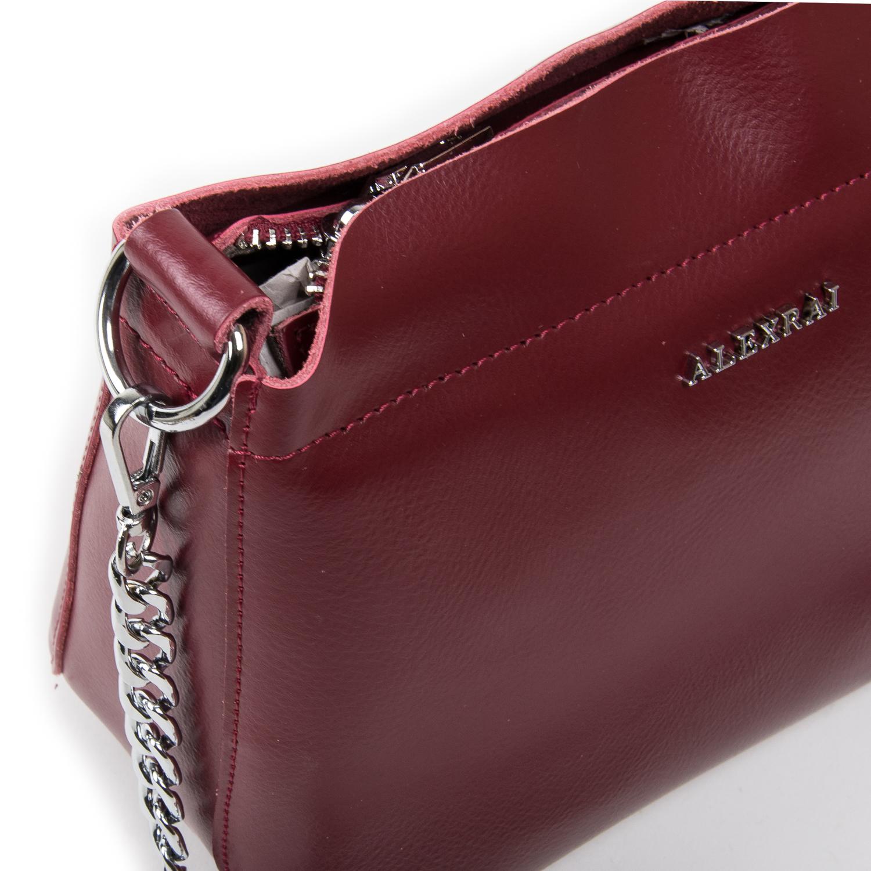 Сумка Женская Классическая кожа ALEX RAI 03-02 3101 l-red - фото 3