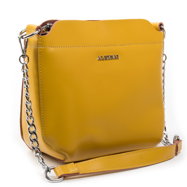 Сумка Женская Классическая кожа ALEX RAI 03-02 3101 yellow