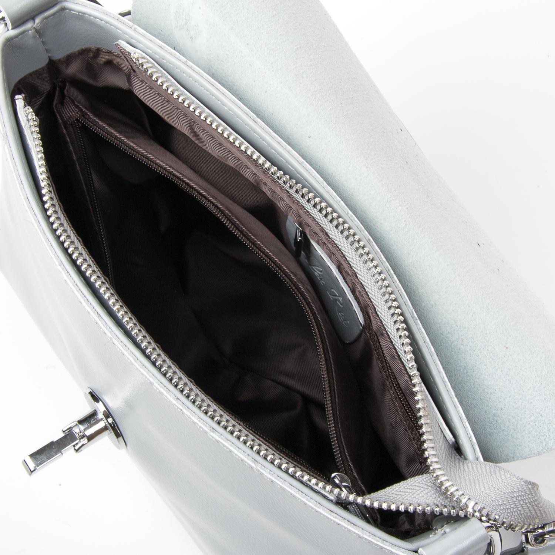 Сумка Женская Классическая кожа ALEX RAI 03-02 321-1 grey - фото 5