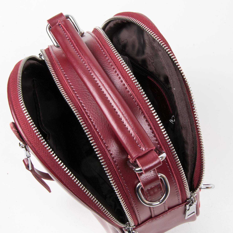 Сумка Женская Классическая кожа ALEX RAI 03-02 339 l-red - фото 5