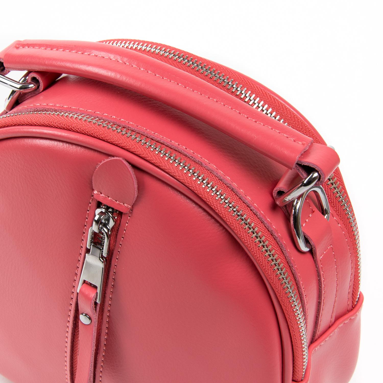 Сумка Женская Классическая кожа ALEX RAI 03-02 339 scarlet - фото 3
