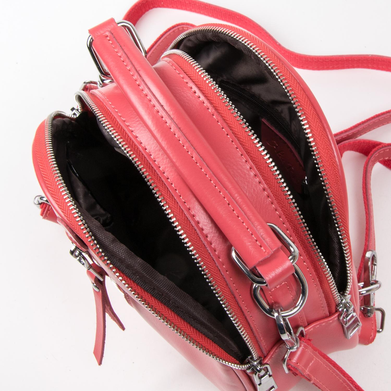 Сумка Женская Классическая кожа ALEX RAI 03-02 339 scarlet - фото 5
