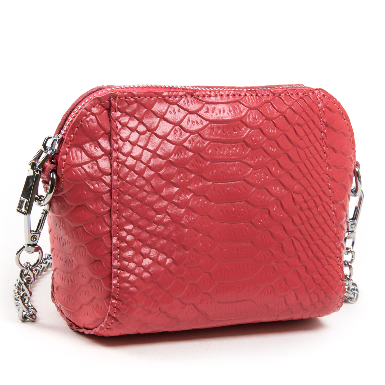 Сумка Женская Классическая кожа ALEX RAI 03-02 6009 scarlet