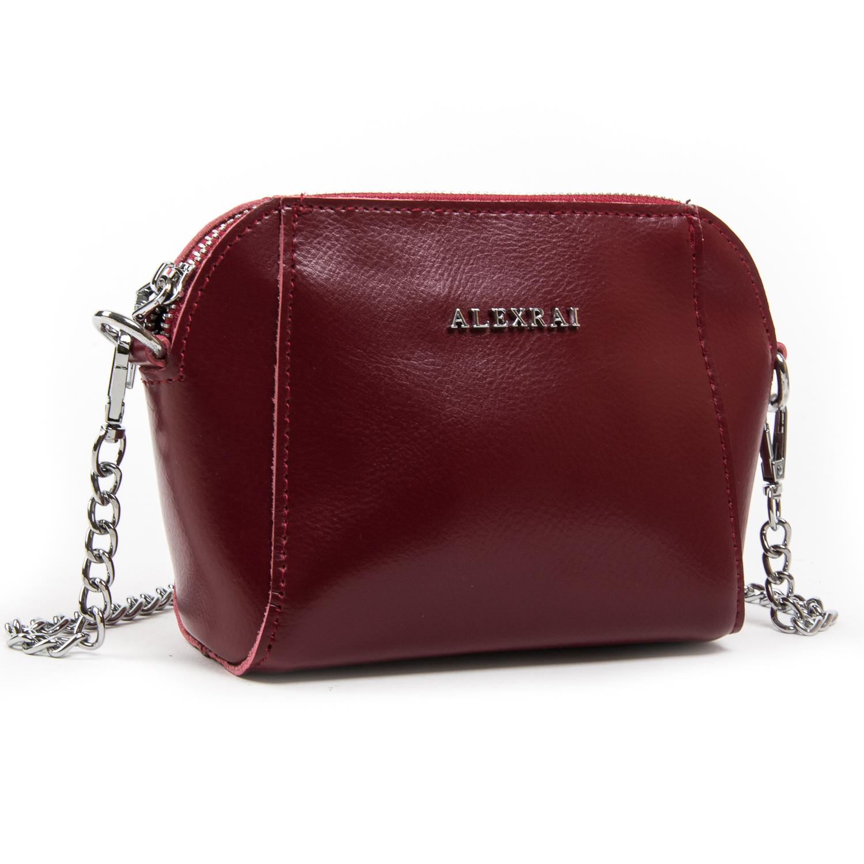 Сумка Женская Классическая кожа ALEX RAI 03-02 8106 l-red