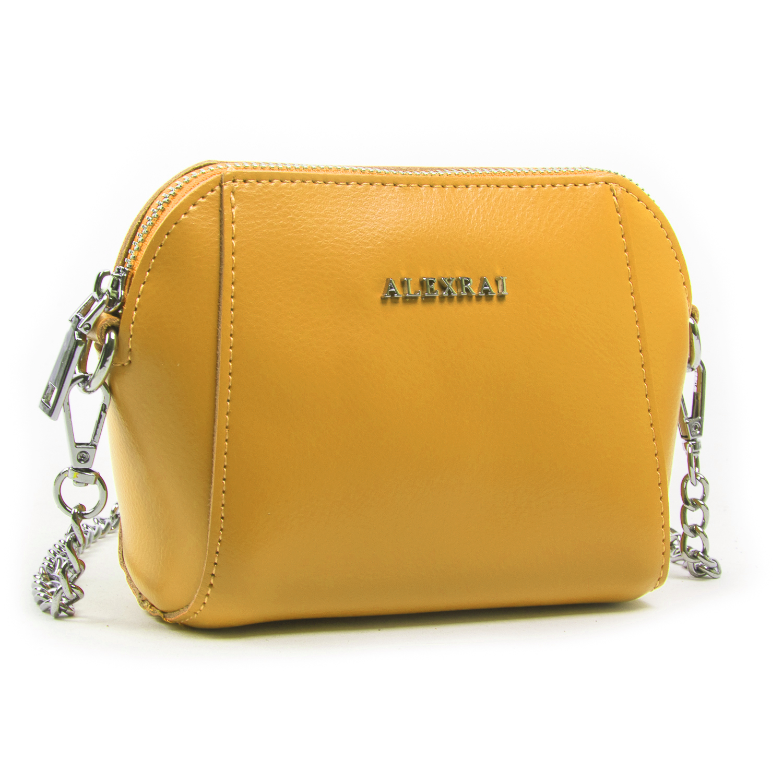Сумка Женская Классическая кожа ALEX RAI 03-02 8106 yellow