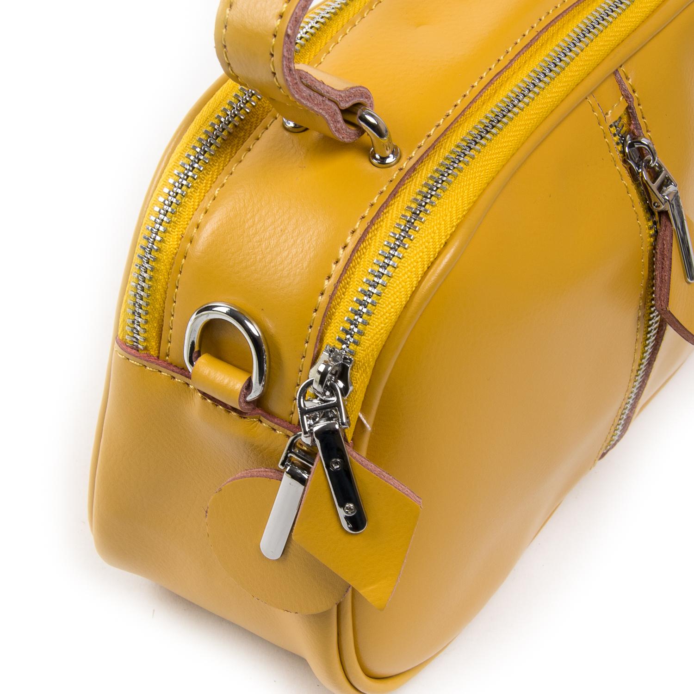 Сумка Женская Классическая кожа ALEX RAI 03-02 8389 yellow - фото 3