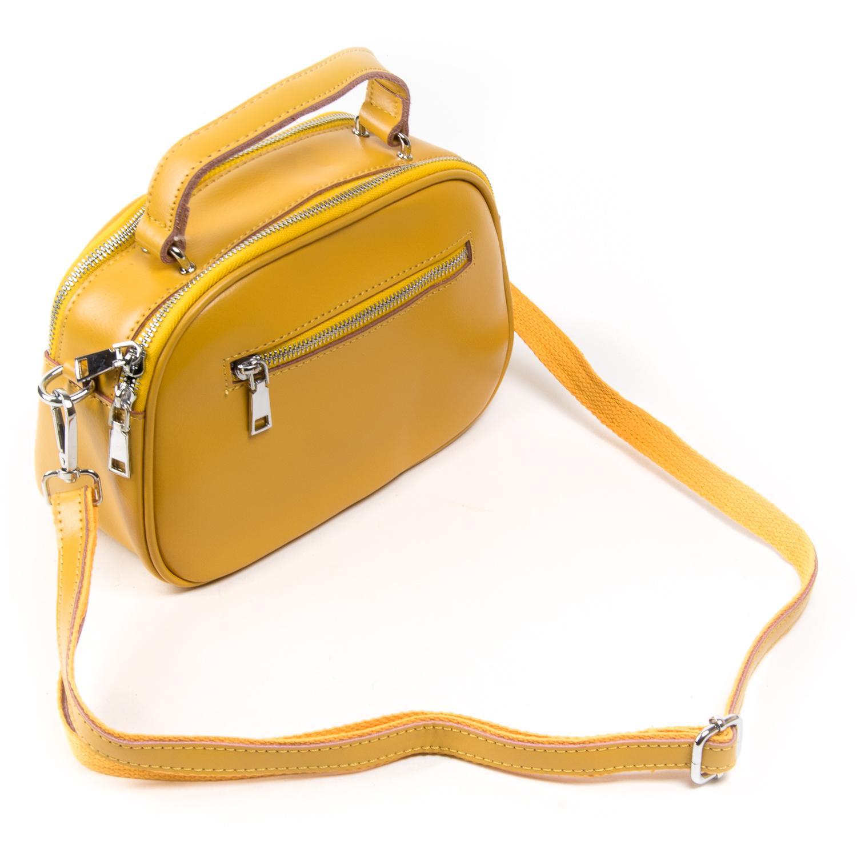 Сумка Женская Классическая кожа ALEX RAI 03-02 8389 yellow - фото 4