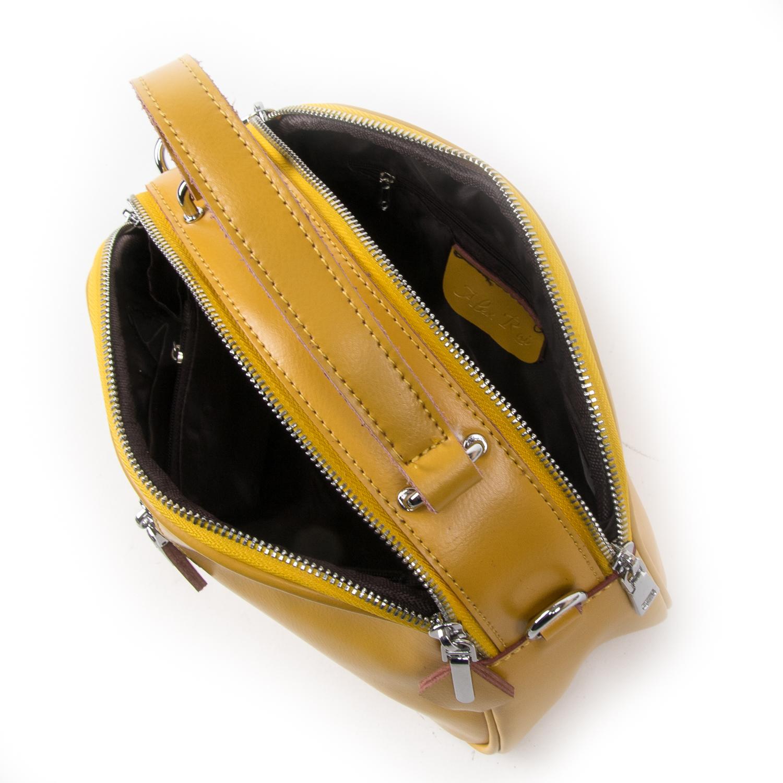 Сумка Женская Классическая кожа ALEX RAI 03-02 8389 yellow - фото 5