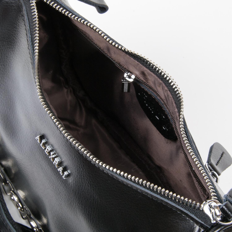 Сумка Женская Классическая кожа ALEX RAI 03-02 8691 black - фото 5