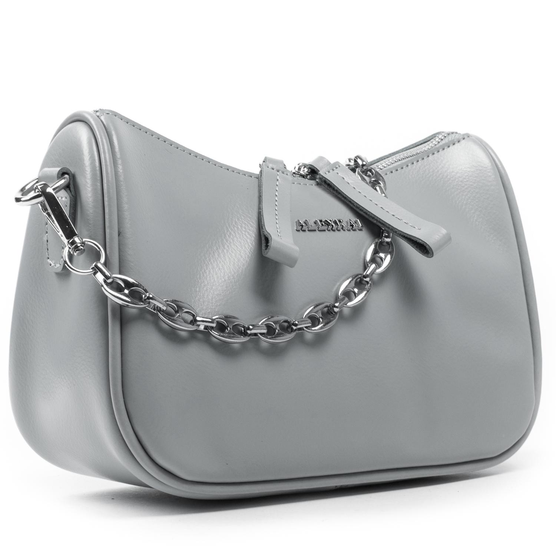Сумка Женская Классическая кожа ALEX RAI 03-02 8691 grey