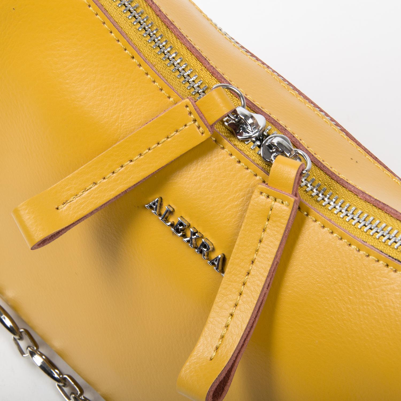 Сумка Женская Классическая кожа ALEX RAI 03-02 8691 yellow - фото 3